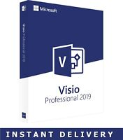 Microsoft VISIO Professional 2019 Pro 1 PC Activation Key + Download Link + FULL