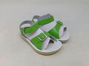 Salt Water Girls Lime Green Surfer Sandals Size 6 Toddler US