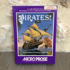 Pirates! Amstrad cpc 464 664 6128  Microprose Disk Tested