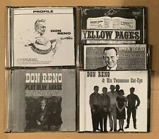 Don Reno Digitized LPs On CD Bluegrass Banjo Master Tennessee Cut-ups Music