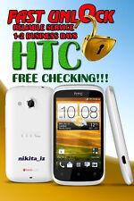 AT&T HTC One X XL M9 M8 M7 Mini Desire 8X Inspire Code Factory Unlock Service
