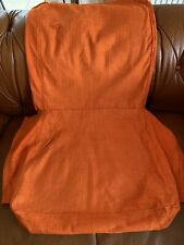 IKEA Heriksdal Dining Chair Covers Burnt Orange New x 6 Stunning