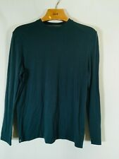 Free Fly Performance Bamboo T Shirt Blue Long Sleeve Mens Size Small