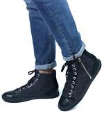LOUIS VUITTON men's hi-top damier canvas sneakers | Size 9/US 10 (28.5 cm/11 in)