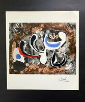 JOAN MIRO  + 1958 BEAUTIFUL SIGNED PRINT + BUY IT NOW!!
