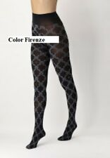 Oroblu I Love Italy patterned tights, blickdichte Strumpfhose, sybolische Muster