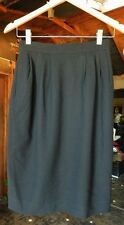 LIZ CLAIRBORNE COLLECTION PETITES Womens Black Knee Length Straight Skirt Size 6
