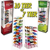 Shoe Boot Shelf Rack Storage Tidy Organiser Cupboards Wardrobe Porch Door Garage