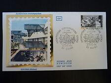 FRANCE PREMIER JOUR FDC YVERT 2365  ARCHITECTURE CONTEMPORAINE 2,40F GIVORS 1985
