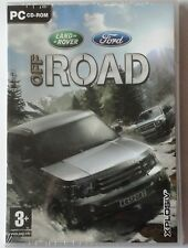 Land rover ford off road voiture 4X4 racing pc cd-rom game brand new & sealed uk
