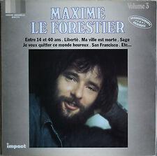 MAXIME LE FORESTIER VOL 3   33T LP