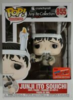 NYCC 2020 OFFICIAL STICKER Funko Pop! Crunchyroll JUNJI ITO SOUICHI Collection
