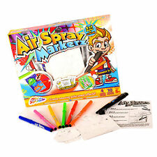 Enfants Garçons Filles Aérographe Spray Marqueur Stylos Art & Craft Coloriage Toy Set 13-0138