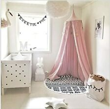 Girls Bedroom Accessories Bed Canopy Round Dome Princess Play Tents Home Decor