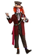Men's Authentic Mad Hatter Alice In Wonderland Costume SIZE XL (Used)