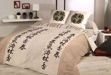 2-teilige gestreifte Bettwäschegarnituren mit Reißverschluss