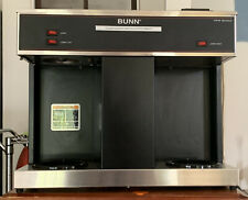 Bunn Vps 12-Cup Pourover Commercial Coffee Brewer Maker w 3 Warmers (04275.0031)