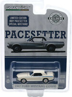 1967 FORD MUSTANG COUPE WHITE INDY PACESETTER SPECIAL 1/64 CAR GREENLIGHT 30161
