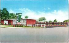 HIGH POINT , NC North Carolina    TOWN HOUSE MOTEL    c1950s    Postcard