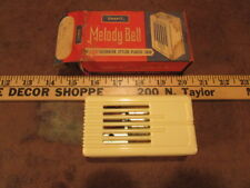 NOS Vintage Snap-it Door Melody bell ivory