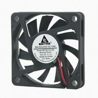 60mm 6cm Silent Fan DC 12V 2Pin Brushless PC Computer CPU Case Cooling Cooler