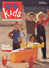 U.S. Kids A Weekly Reader Magazine Vol. 1, No. 8 July - August 1988