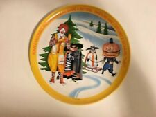 Mint Collectible Lexinton Usa McDonald's Restaraunt Collector Plate Winter 1977