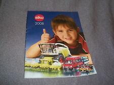 319B Catalogue Siku 2008 de 48 Pages 15 CM # 11 CM