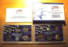 2005 United States MINT PROOF SET - 11 COIN SET !!!!