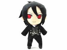 "1X Kuroshitsuji Black Butler Sebastian Michaelis 10"" Anime Figure Plush Doll Toy"