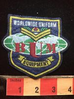 BUM OR BMU Advertising Patch - Worldwide Uniform Equipment  77WF