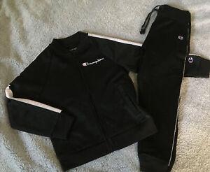 CHAMPION 3T set Athleticwear Toddler's Girls Full Zip Jacket Joggers Pants Suit