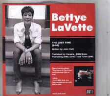 Bettye Lavette-The Last Time Promo cd single