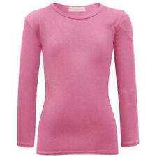 T-shirts, hauts et chemises roses manches longues pour fille de 5 à 6 ans