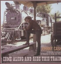 Johnny Cash Come Along & Ride This Train (Box) 4 CD NEW sealed