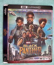 BLACK PANTHER, BLADE RUNNER, BLUE PLANET   4K Blu ray slipcover