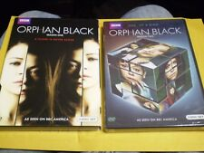 (2) Orphan Black Season DVD Lot: Seasons 1 & 2   Brand NEW