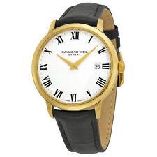 Gold Plated Case Men's RAYMOND WEIL Wristwatches