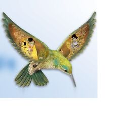 "Gustav Klimt ""The Kiss"" - Hummingbird Wall Plate Decor Art - Bradford Exchange"