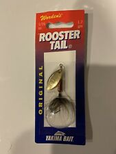 Worden's     Original   Rooster Tail  RT 206     Brown Trout