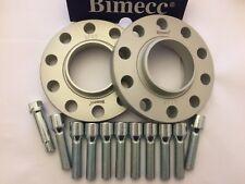 2 x cubo de la Rueda de Aleación Separadores 15 mm bimec + 10 X M12X1.5 Sintonizador Pernos Mercedes 66