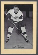 1944-63 Beehive Group II Detroit Red Wings Hockey Photos #166 Val Fonteyne