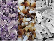 1/4 lb Bulk Mix Amethyst + Citrine + Clear Quartz Crystal Points Collection 4 oz