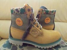 Timberland X Shoepalace 6 In Classic Boot Men's Sz 10.5 Wheat Nubuck TB 0A1UBW
