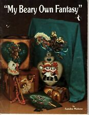 """""""My Beary Own Fantasy"""" Vintage Tole Painting Patterns and Instructions"""