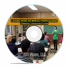 Learn How To Speak Portuguese, Fluent Foreign Language Training Class, DVD E12