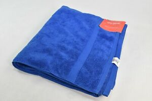 "Bath Towel Opalhouse Capri Blue Perfectly Soft Solid Cotton BathSheet 30"" x 54"""