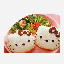 Hello Kitty Sandwich & Rice Mold Bread Crust Cutter Fun Dinner Time For Kids