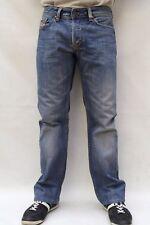 Diesel Viker Homme Coupe Droite Bleu Denim Délavé Coton Jeans W32 L30