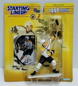 JAROMIR JAGR Pittsburgh Penguins 1998 NHL Starting Lineup SLU Figure & Card NEW